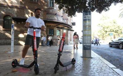 Uber despliega hoy 250 patinetes de alquiler de su marca Jump en Málaga
