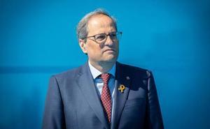 Torra evita comprometerse a actuar dentro de la legalidad y urge a Sánchez a hacer una propuesta a Cataluña