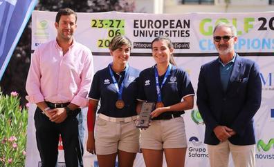 Triunfos para la UMA en el Campeonato Europeo Universitario de Golf 2019 en Antequera