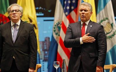 El presidente de Colombia: «Nuestro deber es acabar con la dictadura de Maduro»