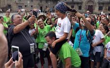 Historia de una proeza: 60 niños malagueños con cáncer culminan el camino de Santiago