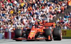 Leclerc, ante una oportunidad de oro para romper el dominio de Mercedes