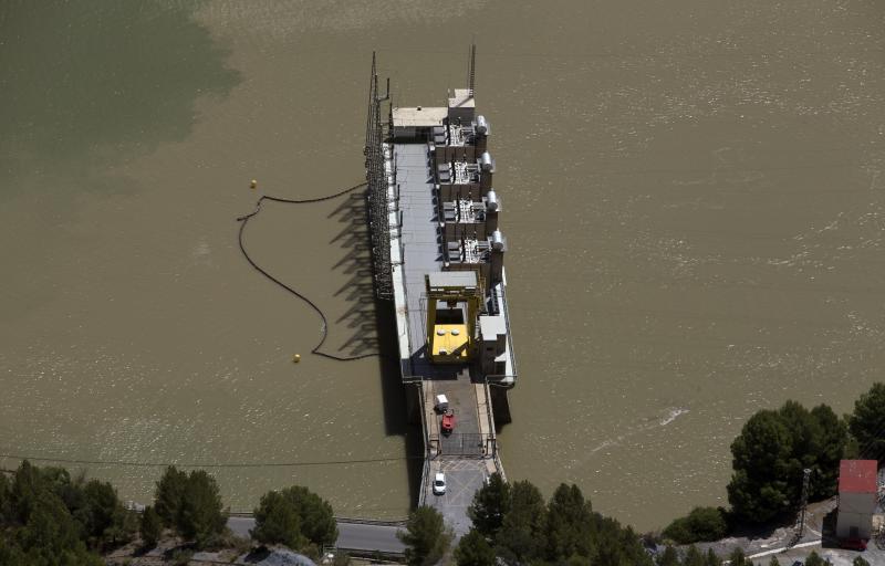 Así es la central hidroeléctrica del Chorro