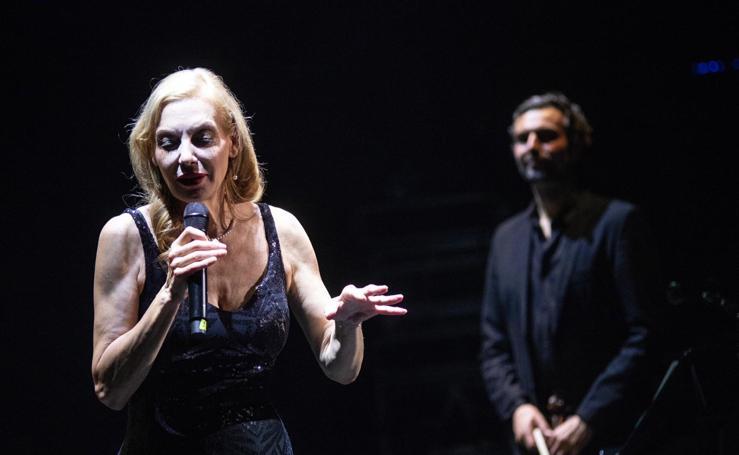 Ute Lemper brilla en el Teatro Cervantes