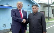 Trump pisa Corea del Norte para reanudar la negociación nuclear con Kim Jong-un