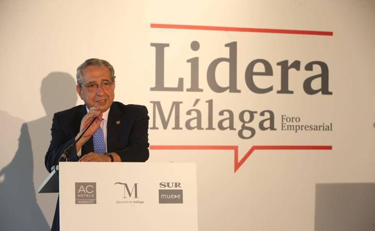 El rector de la UMA, en el Foro Lidera Málaga