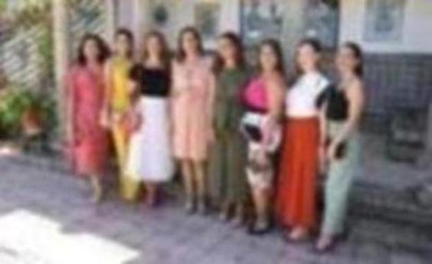 Presidenta y Damas Goyescas de la Feria de Ronda 2019