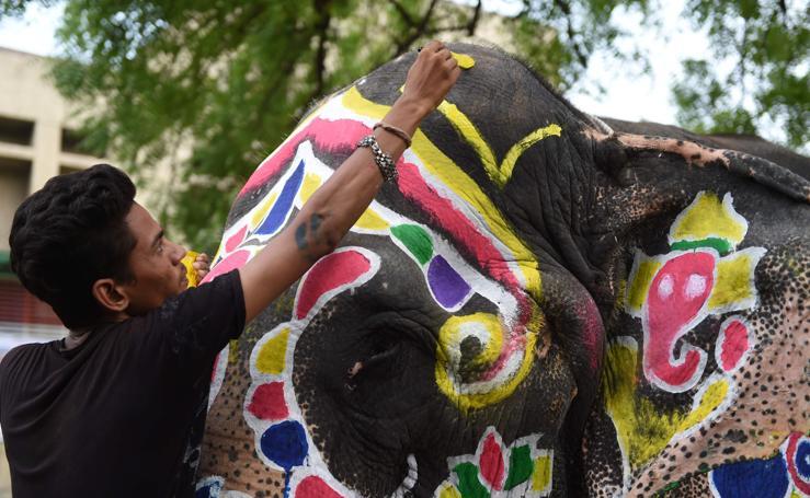 Así es el Ratha Yatra, el festival indio con los carros más grandes del mundo