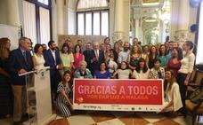 Los Soles de Málaga iluminan el camino de 16 ONG