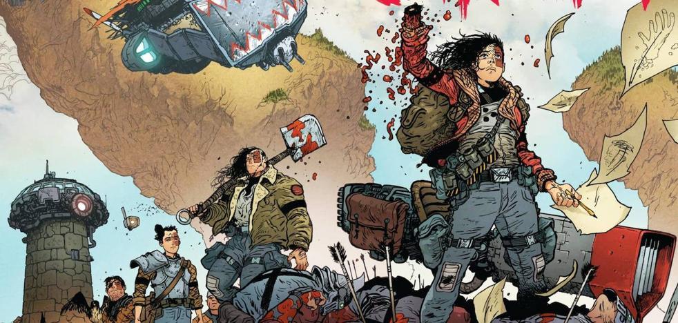 Venganza, superación y mitología en cómic