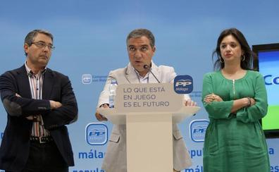 El PP nombra diputados provinciales a Salado, Del Cid, Marmolejo y Oblaré
