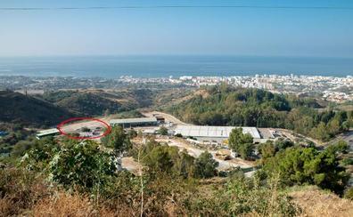 Marbella recupera después de tres años un punto para recepcionar escombros y poda