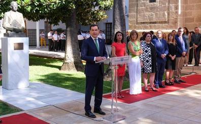 El Parlamento homenajea a Blas Infante con la financiación como reclamo y sin Vox