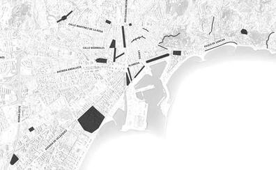 El mapa del miedo de las mujeres en Málaga