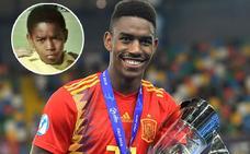 Las raíces malagueñas del campeón de Europa Junior Firpo