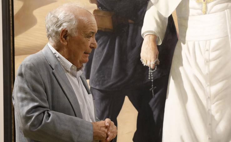 Los cuadros de la antológica de Cristóbal Toral que cautivan en Antequera