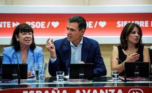 Sánchez se blinda con el aval de la dirección para mantener el rechazo a un Gobierno de coalición