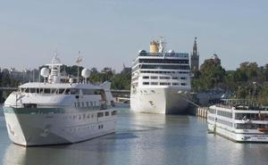 El Supremo deja sin futuro el atraque de grandes cruceros en el Puerto de Sevilla