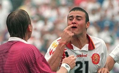 25 años del codazo a Luis Enrique que dolió a toda España