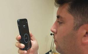 Un paciente cura su apnea gracias a los ejercicios con una aplicación móvil