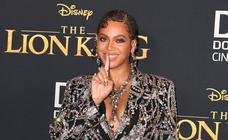 Famosos de Hollywood iluminan el estreno mundial de la adaptación del nuevo 'El Rey León'