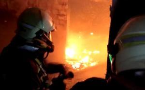 Tres personas atendidas por un incendio en una vivienda de Nerja
