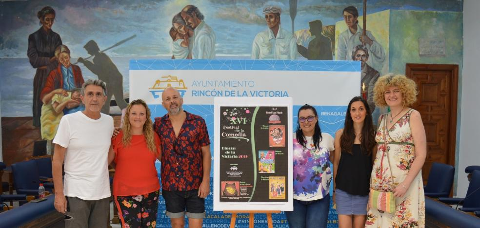 Rincon de la Victoria celebrates the XVI Comedy Festival