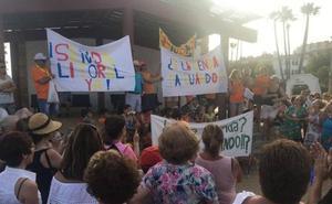 Vecinos de Benajarafe y Chilches convocan una protesta por el retraso en la ejecución de la Senda Litoral