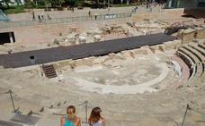 La Junta licita los trabajos para la puesta en valor de los nuevos hallazgos en el teatro romano de Málaga por 128.639 euros