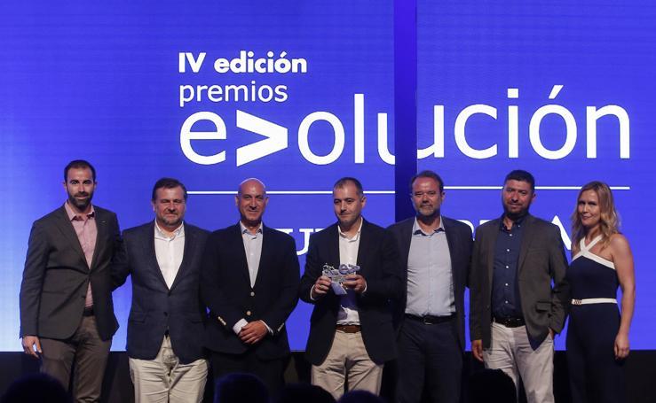 Las imágenes de los premios Evolución Sur.es-BBVA