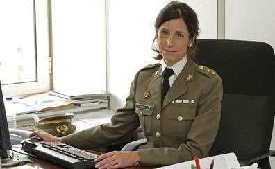 Patricia Ortega, primera mujer general en las Fuerzas Armadas entre 221 hombres