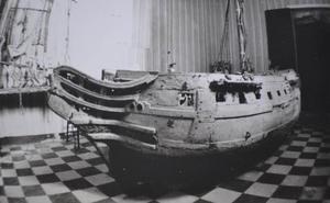 Aquel hallazgo histórico en calle Gaona: el barco que nunca navegó