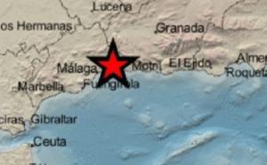 Registrado un terremoto de grado 3 en Almáchar
