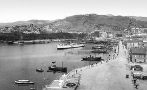 Una Málaga de postal. Foto Rosin (I)