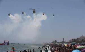 El IV Festival Aéreo congrega en Torre del Mar a más de 250.000 personas