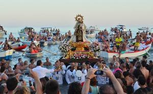 Guía de la treintena de procesiones de la Virgen del Carmen en la provincia de Málaga