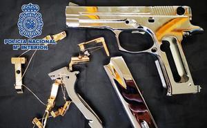 Desarticulan en Campanillas una red que 'canibalizaba' armas de fuego para su venta en el mercado negro