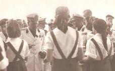 El yerno de Mussolini en Málaga hace 80 años