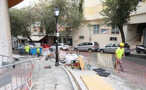 El Ayuntamiento mejorará la accesibilidad de las calles en el barrio de Divina Pastora