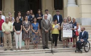 Málaga recuerda a Miguel Ángel Blanco en el 22.º aniversario de su asesinato a manos de ETA