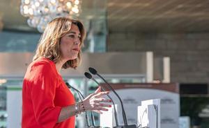 Susana Díaz denuncia que el «acusado de agredir a una artista» pretende «desmantelar» el Centro Andaluz de Fotografía