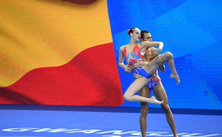 Así son las mejores imágenes del Campeonato Mundial de Deportes Acuáticos en Gwangju