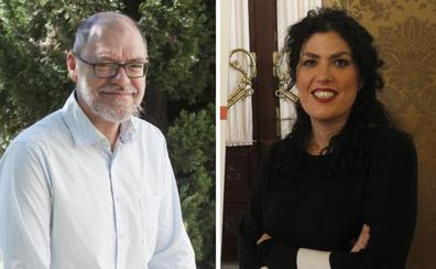 Los escritores Eva Díaz Pérez y Pablo Aranda, finalistas a la dirección del Centro Andaluz de las Letras
