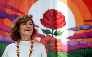 Carmen Calvo dice que el feminismo se lo ha «currado» el socialismo: «El feminismo no es de todas, bonita»