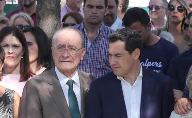 La Junta colaborará con el proyecto de soterramiento del eje litoral en el Centro de Málaga