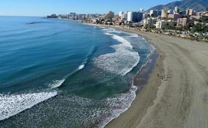 Fallece un segundo bañista en la playa de las Gaviotas de Benalmádena en 15 días