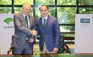 Unicaja Banco renueva su acuerdo con la CEM para fomentar el emprendimiento en Málaga