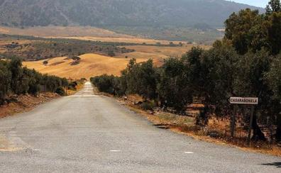 Diputación invierte 215.000 euros en mejorar la carretera entre El Burgo y Casarabonela
