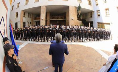 La Policía Nacional refuerza la seguridad de los turistas con la llegada a Málaga de 205 agentes en prácticas