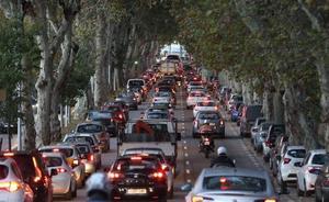 Apuestan por limitar el tráfico en la ciudad para reducir la contaminación acústica